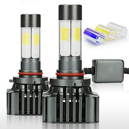 Zdatt 12000LM Super Bright 100W HB4 9006 LED Headlight Bulbs