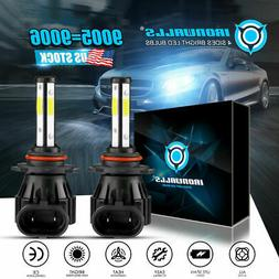 2018 Cree LED Headlight Kit HB4 9006 1900W 6000K 285000LM Li