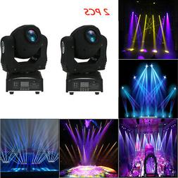 2pack 100W LED Moving Head Beam Lights DMX512 Stage Lighting