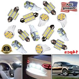 LED Light Interior Package Kit for T10 & 31mm Map Dome + Lic