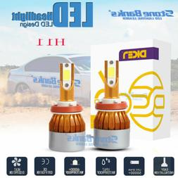 2x H8 H9 H11 100W 20000LM LED Headlight Bulbs Conversion Kit
