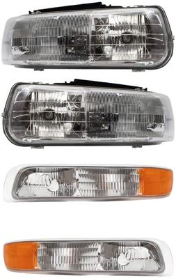 4 Pc Set Headlights