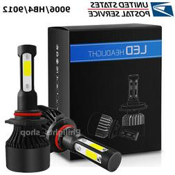 4-Side 9006 HB4 LED Headlight CAR Fog lights Kit 2800W 28000