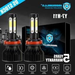 4 Sides CREE H8 H9 H11 2500W 375000LM LED Headlight Bulbs Co