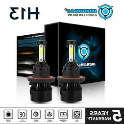 4 Sides H13 9008 1900W 285000LM CREE LED Headlight Bulb Kit