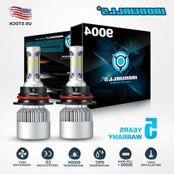 9004 HB1 CREE 2000W 300000LM LED Headlight Hi-Lo Beam Bulbs