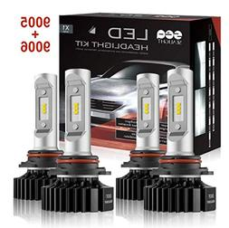 SEALIGHT 9005/HB3 High beam 9006/HB4 Low Beam LED Headlight