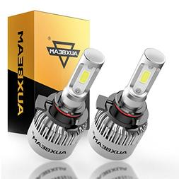 Auxbeam 9005 LED Headlights F-S2 Series with 2Pcs 9005 HB3 H