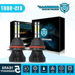 9007 4 Sides LED Headlight Bulbs Hi-Lo Beam for Dodge Ram 15