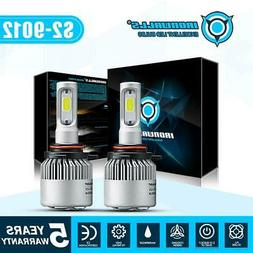 9012 HIR2 LED Headlights Bulbs 1700W 255000LM Hi or Low Beam