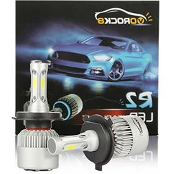 R2 COB H4 HB2 9003 8000LM LED Headlight Conversion Kit, Hi/L