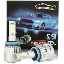 VoRock8 R2 COB H11 H8 H9 H16 8000LM LED Headlight Conversion