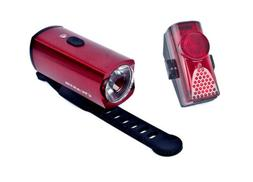 Cycartis Bicycle Bike Front Head and Rear Tail Lights Set Re
