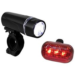 KABB Bicycle Light Set Super Bright 5 LED Headlight, 3 LED T
