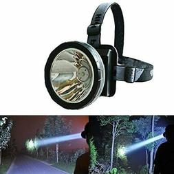 Odear Bright Headlamp Rechargeable LED Torch Mining, Camping