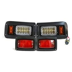Club Car DS Golf Cart Headlight and LED Tail Light Kit - 199