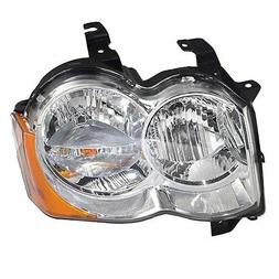 Drivers Halogen Headlight Headlamp Replacement for Jeep SUV