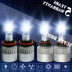 h11 9005 led headlight light 4000w 600000lm