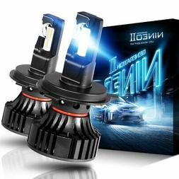 NINEO H4 9003 LED Headlight Bulbs CREE Chips,12000Lm 5090Lux