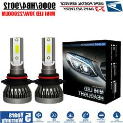 MINI HB4 9006 9012 LED Headlight Kits 70W 22000LM FOG Bulbs