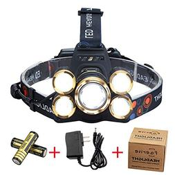 NEWEST Headlamp 12000 Lumen CREE LED Work Headlight with 186