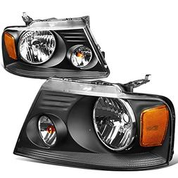 DNA MOTORING HL-OH-F1504-BK-AM Headlight Assembly