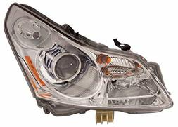 Infiniti G37 Sedan 2009 HID Headlight  w/o Technology Pkg Dr