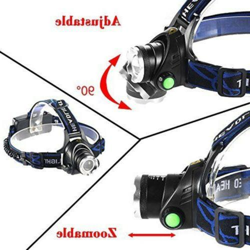 520000LM Head T6 Headlamp Flashlight Torch