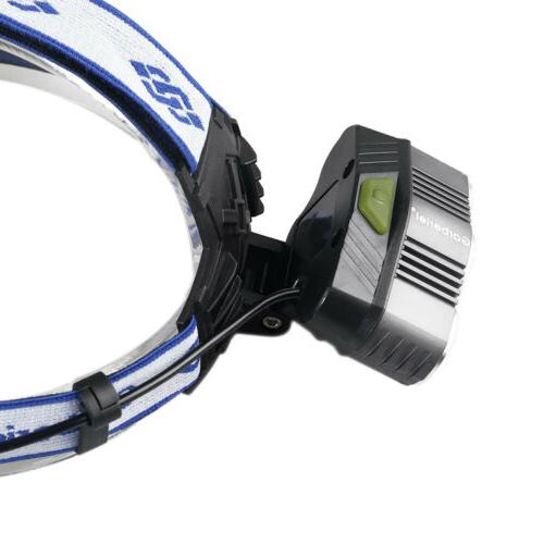 600000LM Headlamp Rechargeable Head