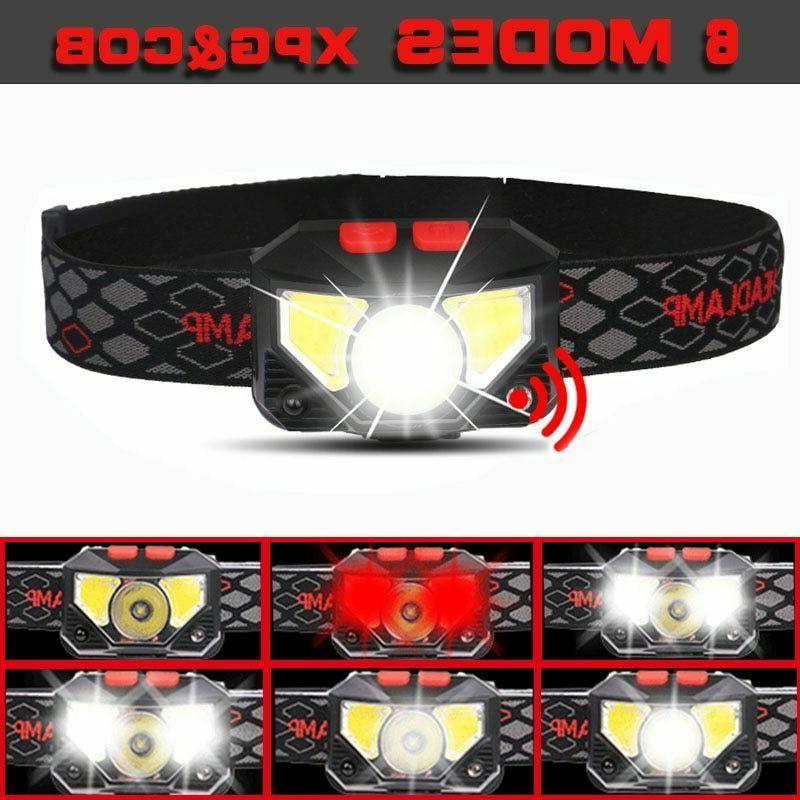 85000Lm Headlamp USB Head