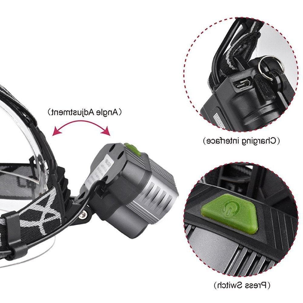 90000LM LED Headlight Head Torch