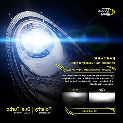 Cougar LED Bulbs Conversion - -7,200Lm 6000K Cool