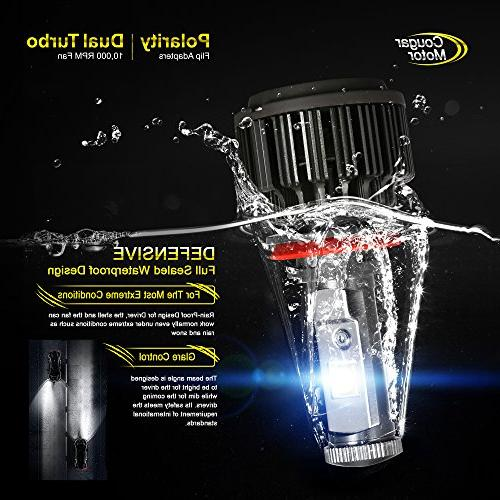 Cougar Motor Bulbs All-in-One Conversion - -7,200Lm 6000K Cool