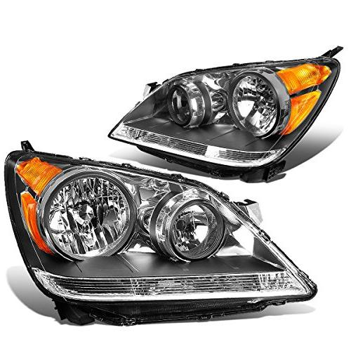 DNA MOTORING HL-OH-044-BK-AM Headlight Assembly, Driver and
