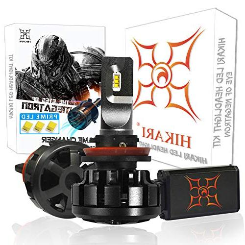 HIKARI Ultra LED Headlight Bulbs Conversion Kit -H11 , Prime