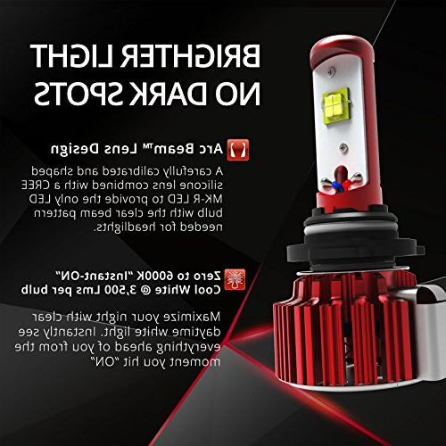 OPT7 H11 Headlight w/Clear Bulbs 60w 7,000Lm