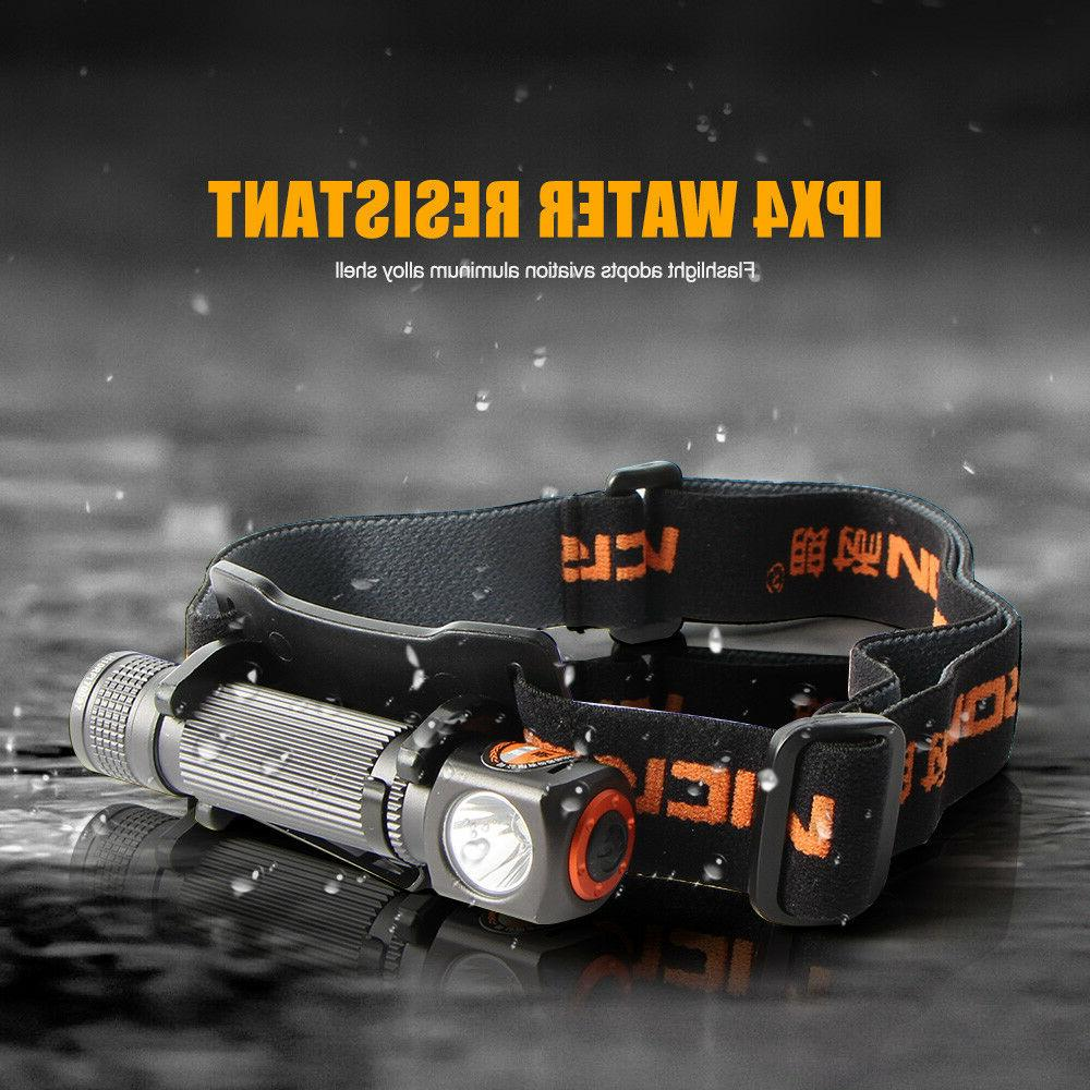 Rechargeable Flashlight Camping HeadLight