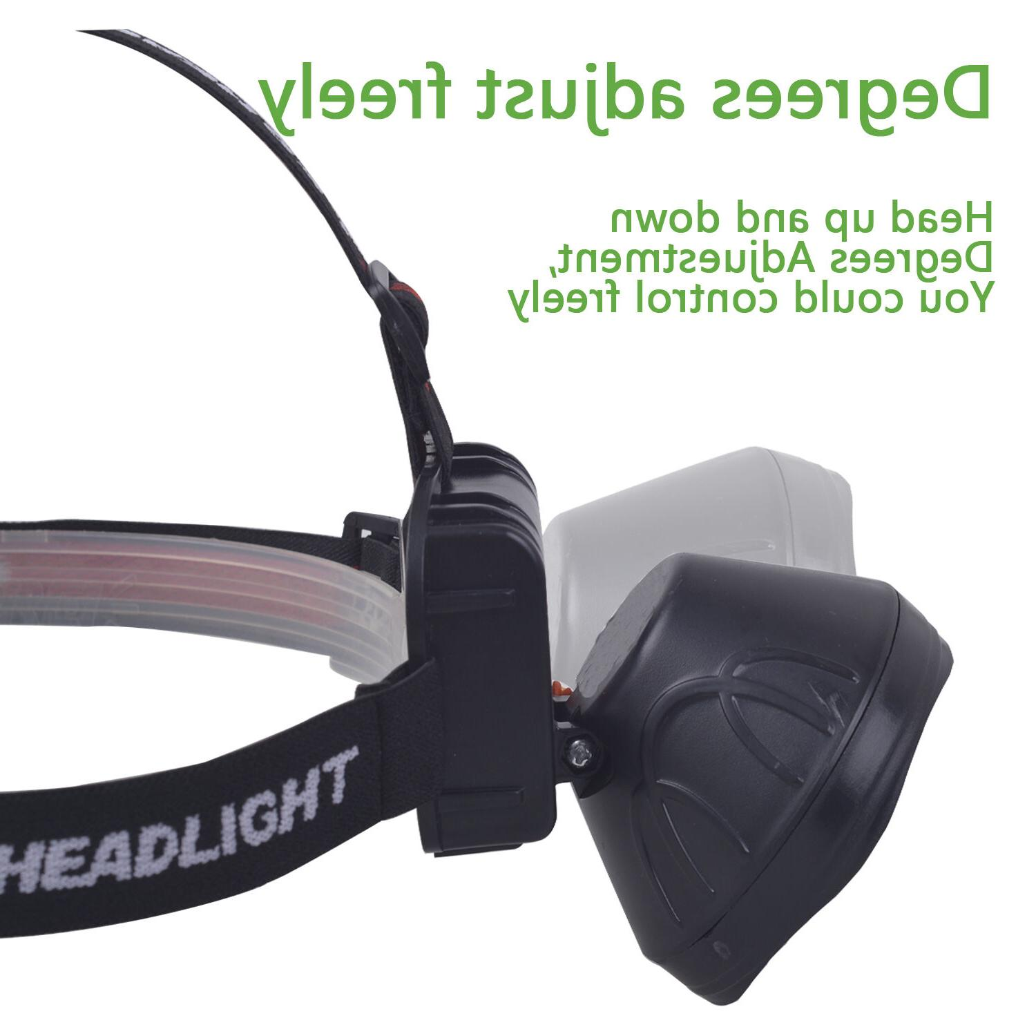 Odear Bright Rechargeable Headlamp Flashlight fishing