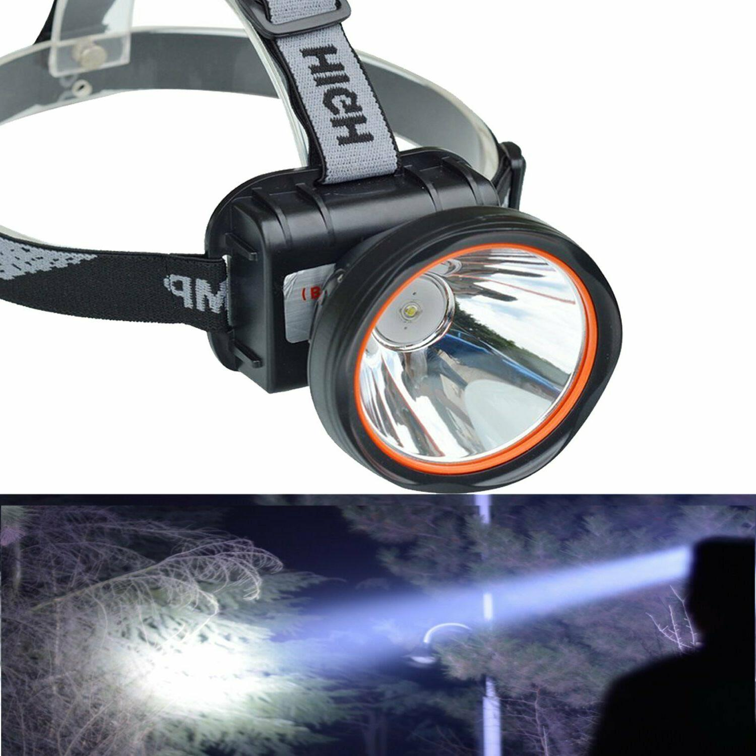 bright rechargeable headlamp flashlight headlight camping to