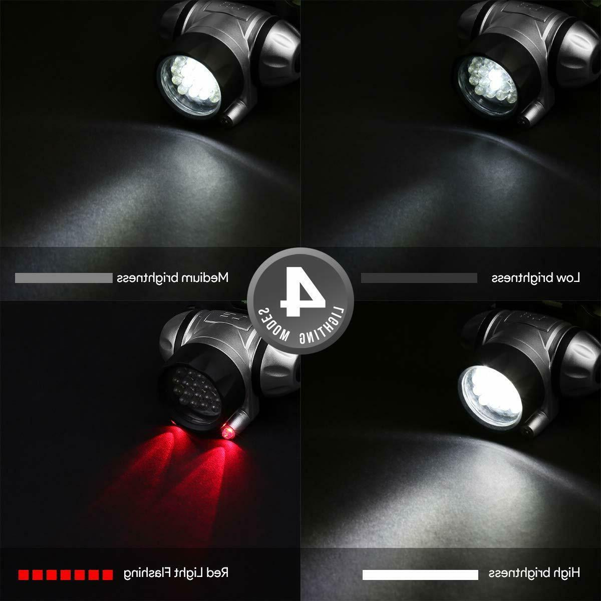 LED Water Head Light for Reading & Use
