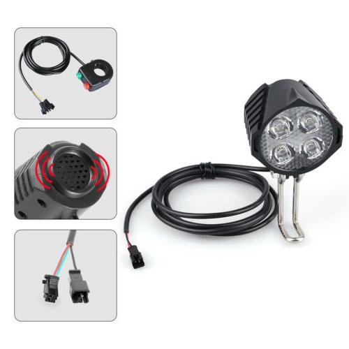 Electric Bicycle and Taillight Fit BBS Motor