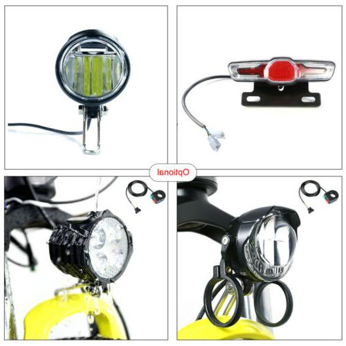 electric bicycle 6v headlight and taillight fit