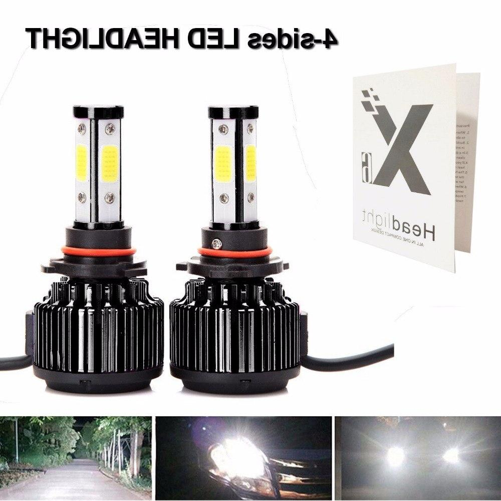 <font><b>Krator</b></font> LED <font><b>Headlight</b></font> 4 Kit Headlamp Bulbs