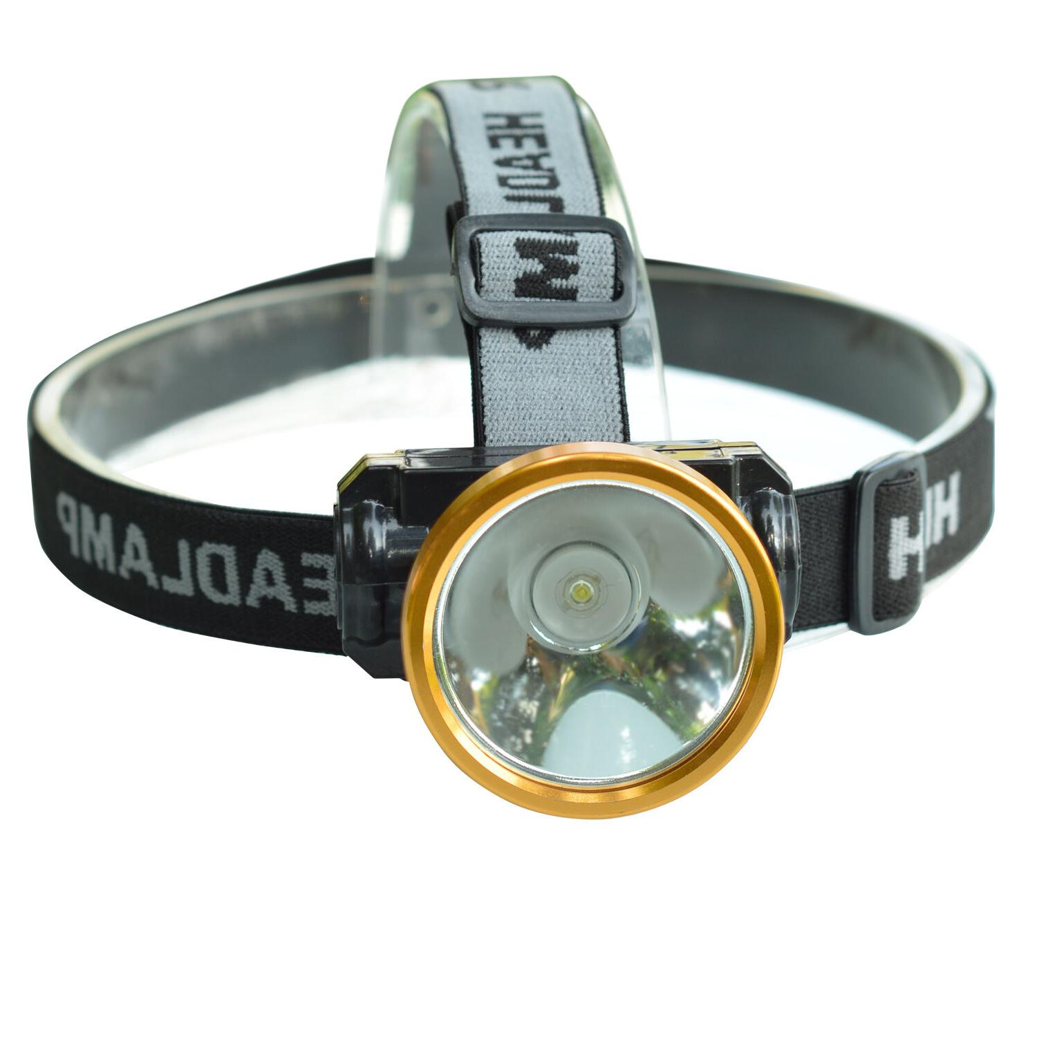 Odear Head LED Rechargeable Flashlight for Camping