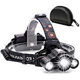 Headlamp,Cobiz Brightest High 6000 Lumen LED Work Headlight,