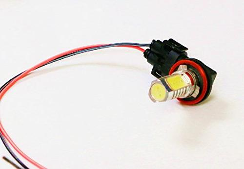 iJDMTOY H11 881 Female Wiring Harness Wire Headlights or Fog Lights