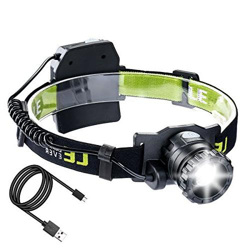 le rechargeable headlamp