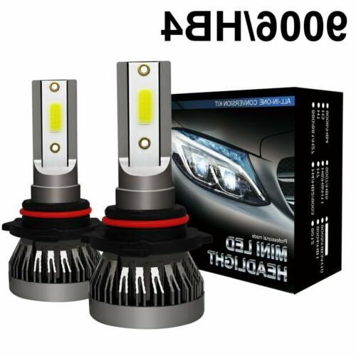 Mini 9005 + H11 Headlight Hi-Low Bulb 744750LM