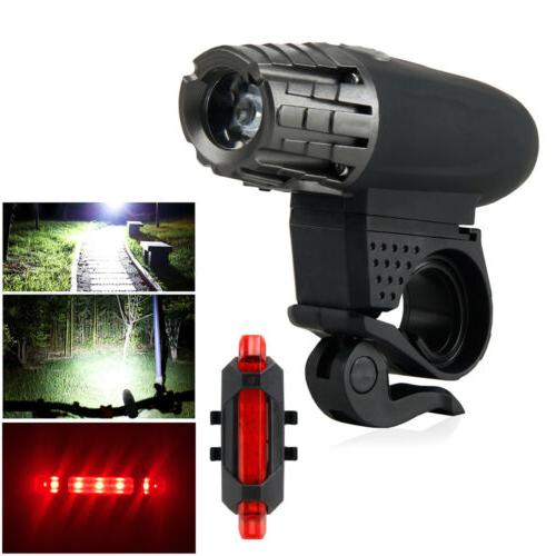 usb rechargeable waterproof led bright bike front