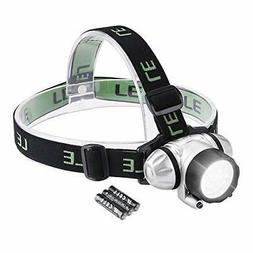 LE Super Bright LED Headlamp, 18 White LED and 2 Red LED, 4